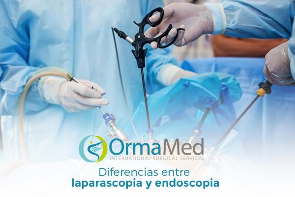 Diferencias entre laparoscopia y endoscopia
